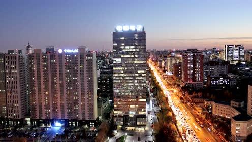 中国电子总部大楼延时拍摄