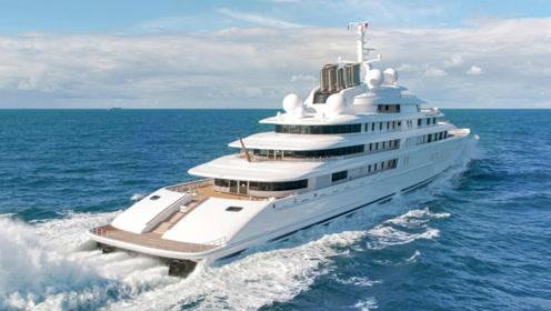 世界最贵的3艘游艇,第一价值43亿,网友:白给也养不起!