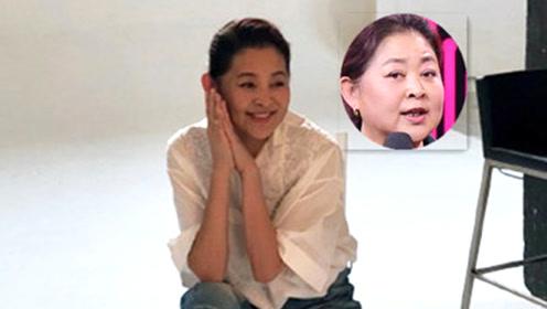 59岁倪萍近照曝光瘦成瓜子脸,美回颜值巅峰