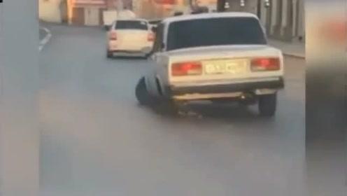 盘点那些轮子突然脱落的事故集锦