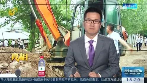 青州:洪水来临 他丢下妻子救村民