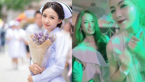 泰国最美女护士因貌美遭解雇后频繁出入夜店令人惋惜