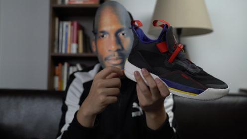 """AJ33,""""快速鞋带系统""""是创新还是鸡肋?"""
