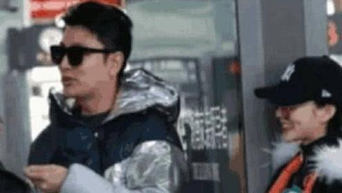 李小璐贾乃亮机场同框疑为孩子和好?真相原来是这样