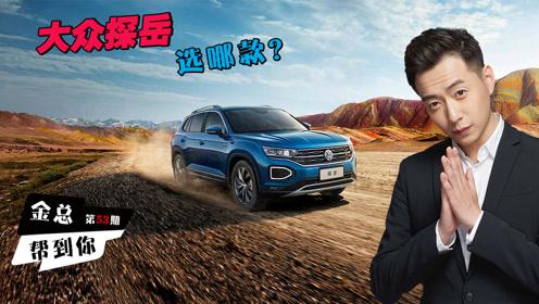 最具潜力的SUV探岳哪款配置最值得买