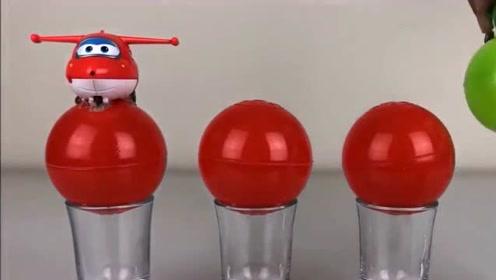 超级飞侠找到了好多玩具奇趣蛋,里面藏着什么好玩的玩具呢