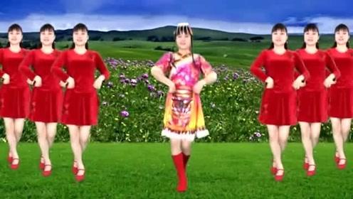藏族舞《平安是福》,乌兰托娅演唱,愿家家团团圆圆!