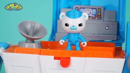 《比特玩具》海底小纵队拯救零食垃圾