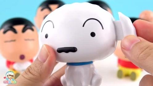 《玩具益趣园》蜡笔小新扭蛋之可爱的小白