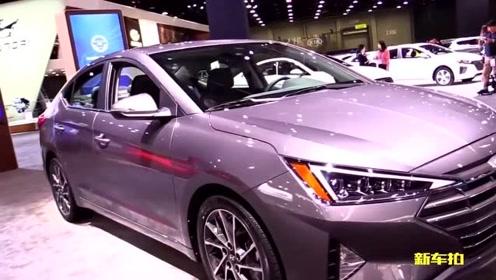 2019 现代 伊兰特elantra,新车造型更年轻动感,坐进车内还买雷凌?