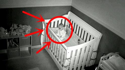 监控录下,小宝宝竟然这样睡了一夜,网友:这父母看了会哭