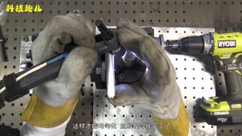 月薪5万元的电焊大师 鱼鳞焊的技术让人心服口服