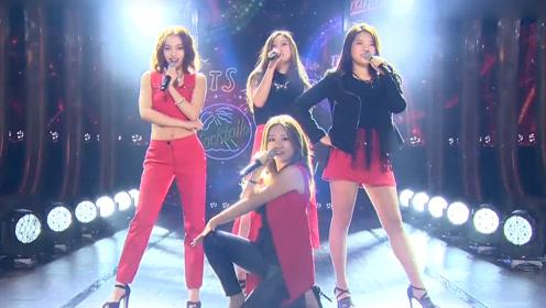 刘柏辛一袭红裙唱跳,早期参加女团比赛也是C位仙女