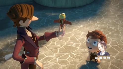 魔术师在农村施法,变出玩具包包吸引老人孩子,下雨后带着金币跑路