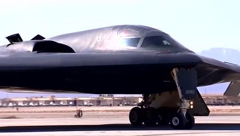 B-2到底有多强?30秒投放几十吨炸药