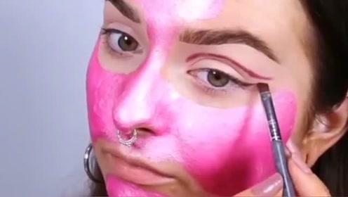 精致的女孩子,就连化妆品都是死亡芭比粉色,网友:接受不了