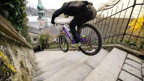 被保险公司拉入黑名单的男人 一年骑坏几十个自行车