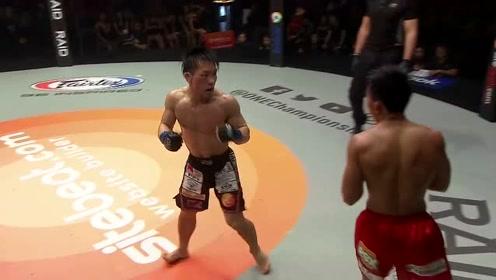 ONE冠军赛 猿田洋祐压倒帕西奥,砸拳攻击帕西奥