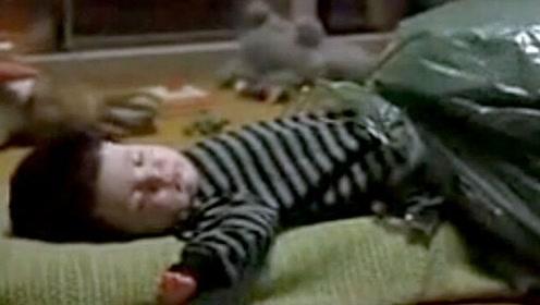 小孩刚出生就一直放屁,家人不堪忍受,将其装在袋子里自生自灭!