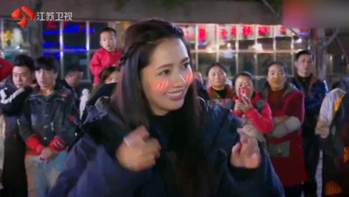 郭碧婷跳民族舞好可爱,却还是被向太吸引了眼光,出场太惊艳!