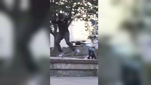 极限滑板运动,将街头玩成了游乐场,技术真是一流