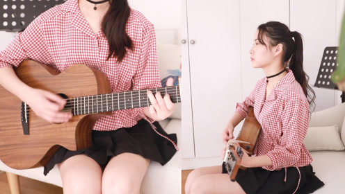 《我等到花儿也谢了》张学友 阿澜吉他弹唱