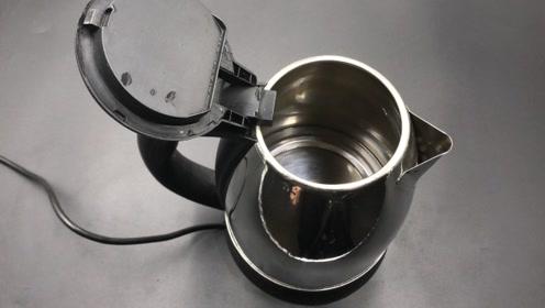 电水壶烧水,好多人都烧错,经常犯的这4个错误,早点知道就好了