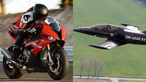 摩托车发动机还能用到飞机上?老外挑战,极速340最强宝马!