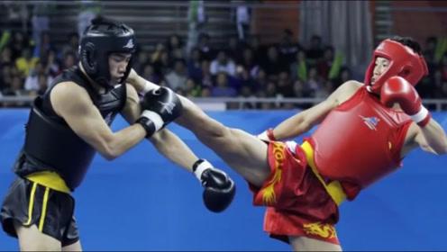 跆拳道残暴KO,谁说戴着头盔就踢不晕人?