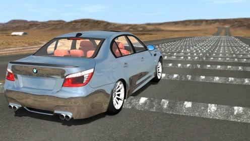 加速200公里的汽车,遇到500个减速带会怎样?结果难以置信