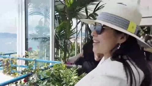 章子怡在戛纳吃方便面 辣萝卜 走红毯前试穿礼服汪峰关心透不透
