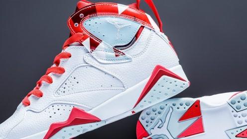 甜美糖果色!这双Air Jordan 7GS新品你心动了?