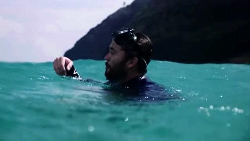 直面最致命的海浪,但是如果你是一个冲浪高手