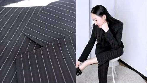 女人上班穿西装也很好看 配裙装裤装都加分