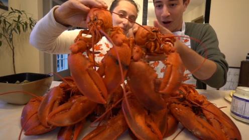 """被称为""""海鲜之王""""的龙虾,到底有多好吃,网友:一顿能吃10只"""