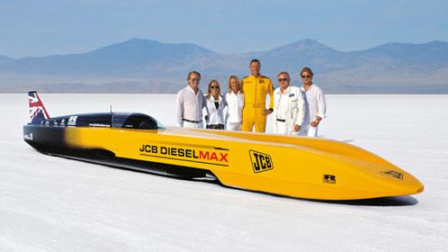 全球最速柴油车,车重2.7吨极速563,发动机是亮点!