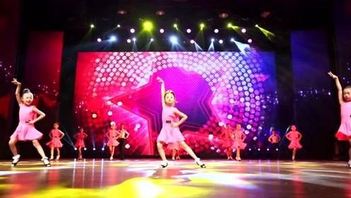 少儿拉丁舞《快乐童年》,让孩子在舞蹈中成长!