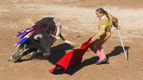 """牛看见红色就会""""发疯""""?斗牛士说出了实情!原来被骗了这么久!"""