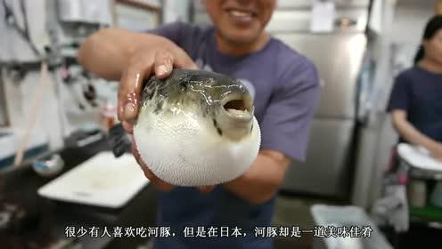 日本人真会吃,河豚身上最顶级的食材,网友:嫩白光滑看着就好吃