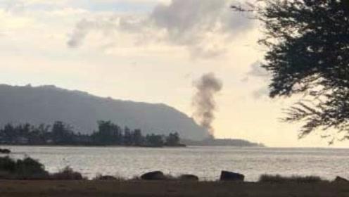 突发!夏威夷一飞机坠毁 机上9人全部遇难