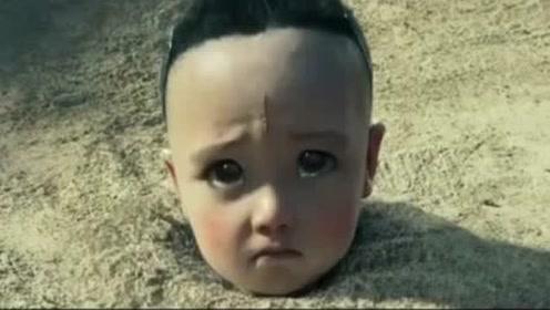 小孩被埋在土里,男子路过救了他,却发现他有6条手臂