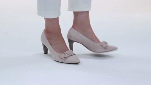 经典小跟高跟鞋,职场美女最爱!