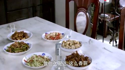乡下穷亲家来家里,老两口自己出去吃肉