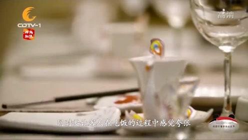 中餐厅厨师不仅厨艺好,还能手工做餐具,精致典雅满满中国风