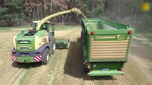 带你看看德国农民的耕种方式,一台机械抵十几个工人,太先进了