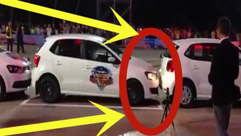 你见过用漂移侧方停车吗?专治各种不服,下一秒让人难以相信!