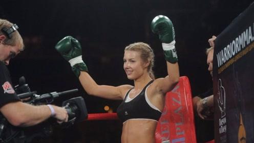 俄罗斯25岁最美女拳王豪言称:谁打败我就嫁谁,网友:吃不消