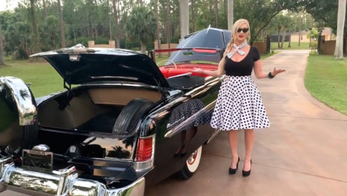 美女出售1954年产的敞篷车,网友看完后:我们落后了50年!