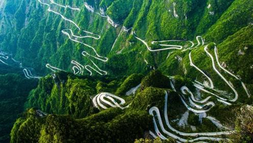 """中国最牛公路,10年才修完4公里,像一条""""巨蛇""""盘绕在山上"""