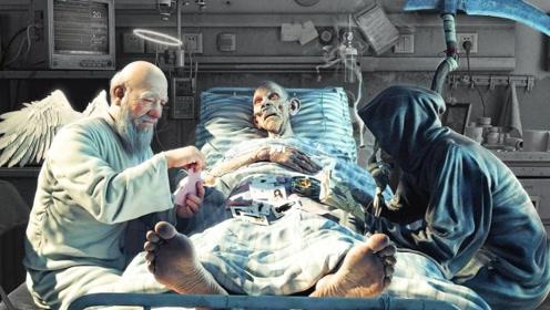 人死后体内的血液都去哪了?动画演示全过程,场面一目了然!